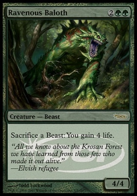 Promotional: Ravenous Baloth (Judge Foil)