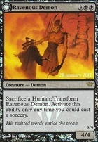 Promotional: Ravenous Demon (Prerelease Foil)