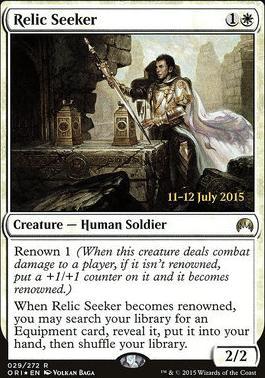 Promotional: Relic Seeker (Prerelease Foil)