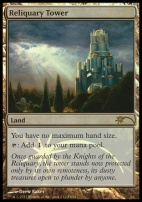 Promotional: Reliquary Tower (FNM Foil)