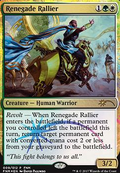 Promotional: Renegade Rallier (FNM Foil)