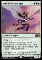 Promotional: Resolute Archangel (Prerelease Foil)