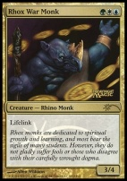 Promotional: Rhox War Monk (FNM Foil)
