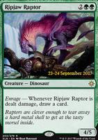 Promotional: Ripjaw Raptor (Prerelease Foil)