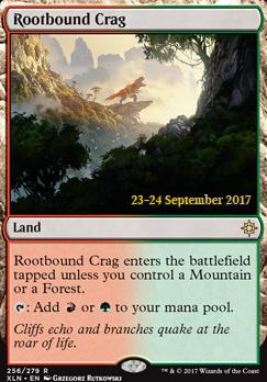 Promotional: Rootbound Crag (Prerelease Foil)