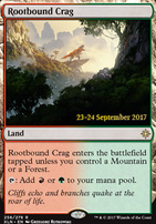 Promotional: Rootbound Crag (Prerelease Foil)
