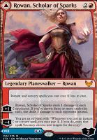 Promotional: Rowan, Scholar of Sparks (Prerelease Foil)