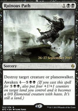 Promotional: Ruinous Path (Prerelease Foil)