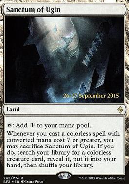 Promotional: Sanctum of Ugin (Prerelease Foil)
