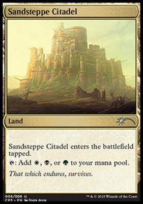 Promotional: Sandsteppe Citadel (Clash Pack Foils)