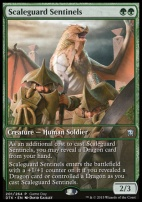 Promotional: Scaleguard Sentinels (Gameday Extended Art)