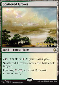 Promotional: Scattered Groves (Prerelease Foil)
