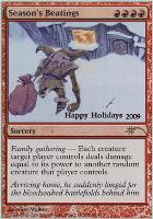 Promotional: Season's Beatings (Holiday Foil)