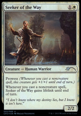 Magic The Gathering Cards Promotional Seeker Of The Way Clash