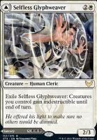 Promotional: Selfless Glyphweaver (Prerelease Foil)
