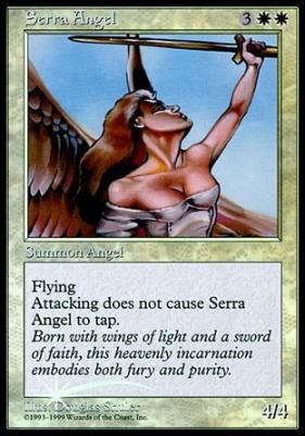 Promotional: Serra Angel (Redeem Foil)