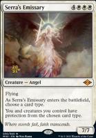 Promotional: Serra's Emissary (Prerelease Foil)