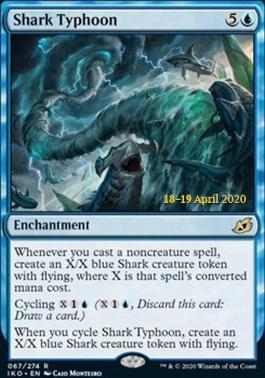Promotional: Shark Typhoon (Prerelease Foil)