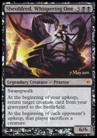 Promotional: Sheoldred, Whispering One (Prerelease Foil)