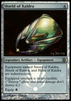 Promotional: Shield of Kaldra (Prerelease Foil)