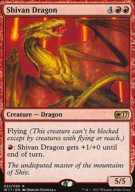 Promotional: Shivan Dragon (Welcome 2017)