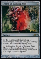 Promotional: Shrine of Burning Rage (WPN Foil)
