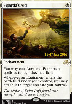 Promotional: Sigarda's Aid (Prerelease Foil)
