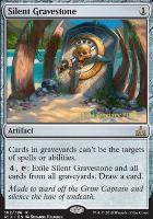 Promotional: Silent Gravestone (Prerelease Foil)
