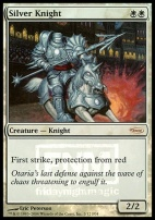 Promotional: Silver Knight (FNM Foil)