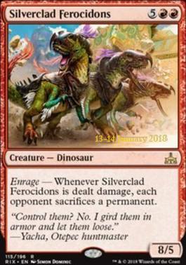 Promotional: Silverclad Ferocidons (Prerelease Foil)
