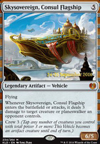 Promotional: Skysovereign, Consul Flagship (Prerelease Foil)