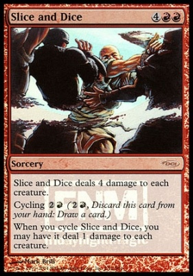 Promotional: Slice and Dice (FNM Foil)