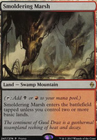 Promotional: Smoldering Marsh (Alternate Art)