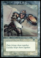 Promotional: Soldier Token (Onslaught)