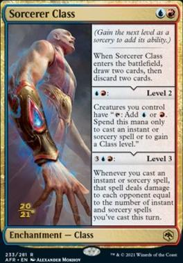 Promotional: Sorcerer Class (Prerelease Foil)
