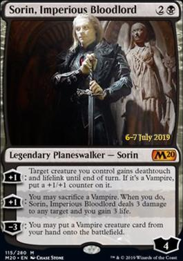 Promotional: Sorin, Imperious Bloodlord (Prerelease Foil)