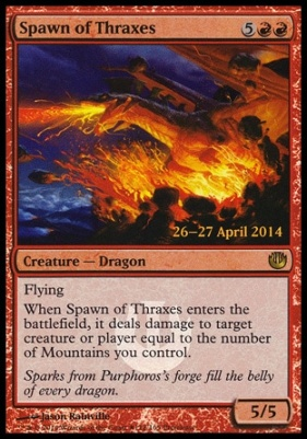 Promotional: Spawn of Thraxes (Prerelease Foil)