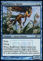 Promotional: Spellstutter Sprite (FNM Foil)