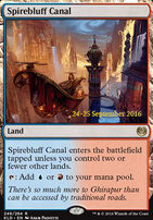 Promotional: Spirebluff Canal (Prerelease Foil)