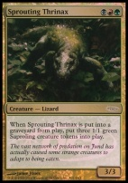 Promotional: Sprouting Thrinax (Gateway Foil)