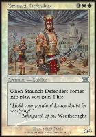 Promotional: Staunch Defenders (FNM Foil)