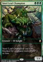 Promotional: Steel Leaf Champion (Store Championship Foil)