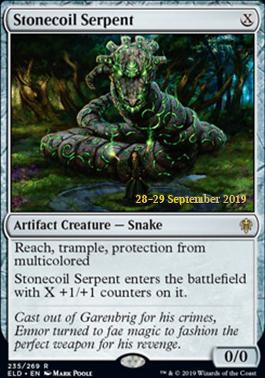 Promotional: Stonecoil Serpent (Prerelease Foil)