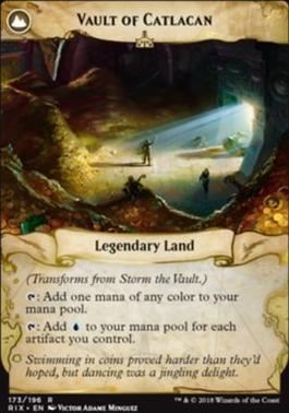 Promotional: Storm the Vault (Prerelease Foil)