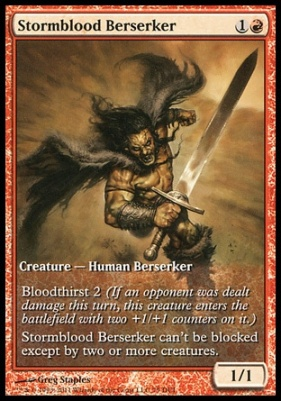 Promotional: Stormblood Berserker (Game Day Extended Art)