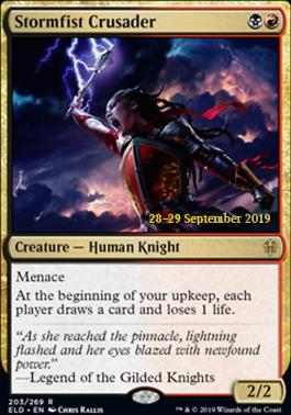 Promotional: Stormfist Crusader (Prerelease Foil)