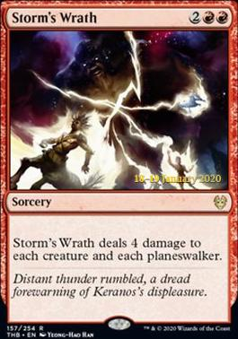 Promotional: Storm's Wrath (Prerelease Foil)