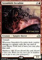 Promotional: Stromkirk Occultist (Prerelease Foil)