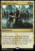 Promotional: Sultai Ascendancy (Prerelease Foil)