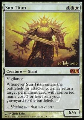 Promotional: Sun Titan (Prerelease Foil)